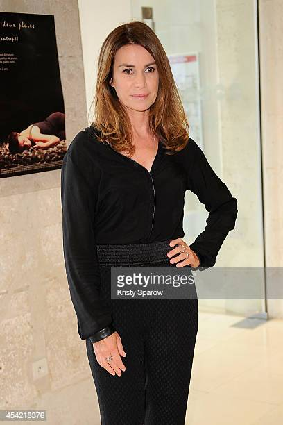 Valerie Kaprisky attends the 7th Angouleme FrenchSpeaking Film Festival Award Ceremony at Theatre d'Angouleme in Angouleme France