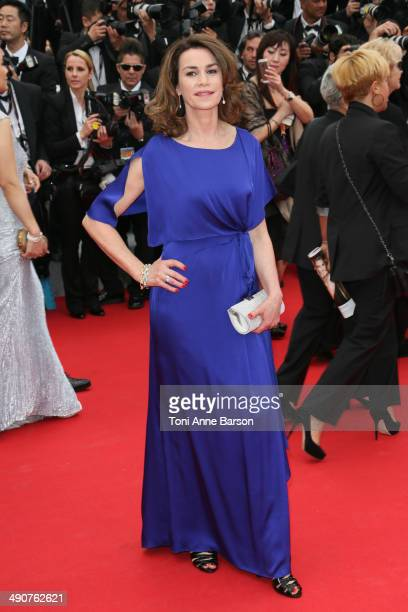 Valerie Kaprisky attends the opening ceremony and Grace of Monaco premiere at the 67th Annual Cannes Film Festival on May 14 2014 in Cannes France