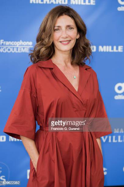 Valerie Karsenti attends the 10th Angouleme FrenchSpeaking Film Festival on August 26 2017 in Angouleme France