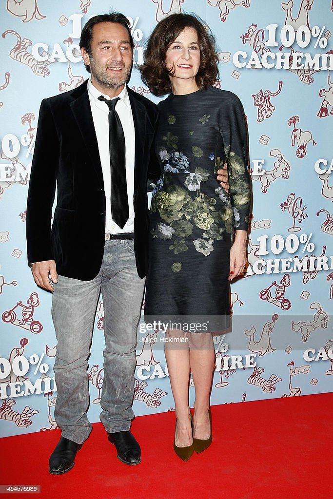 2e8ebde5168  100% Cachemire  Paris Premiere At Cinema Pathe Beaugrenelle   News Photo.