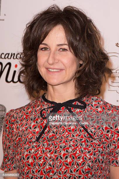 Valerie Lemercier attends the 'les vacances du petit Nicolas' Premiere at Cinema Gaumont Capucine in Paris