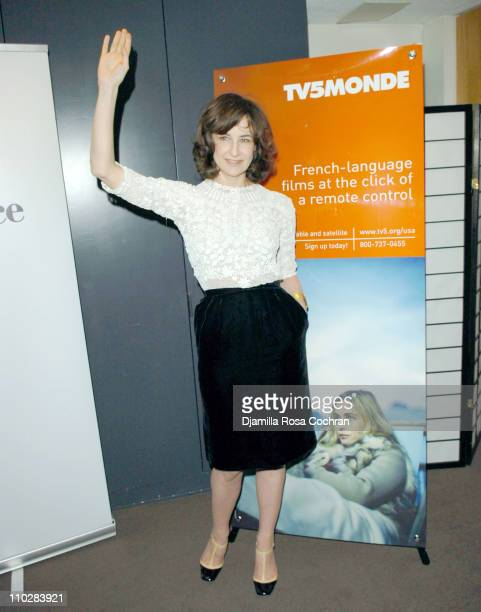 Valerie Lemercier during Opening Night of 'Palais Royal' at Alice Tully Hall in New York City New York United States