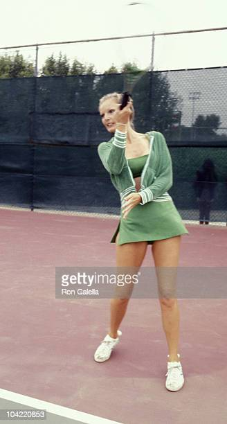 Valerie Lundeen attends Third Annual Cathy's ProCelebrity Tennis Classic on June 25 1977 at Billy Jean King Tennis Stadium at Forest Hills in New...