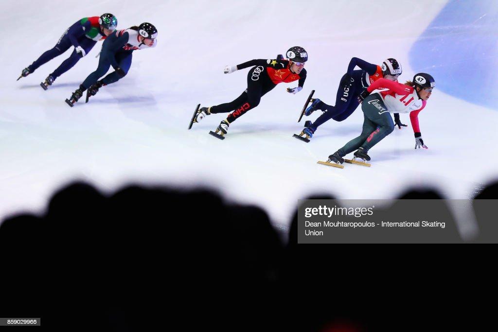 Audi ISU World Cup Short Track Speed Skating - Dordrecht