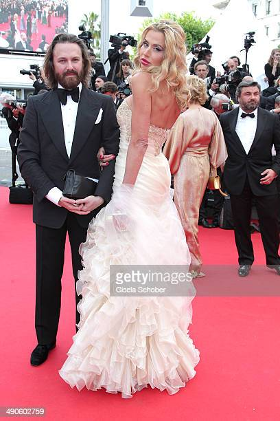 Valerie Marini attends the Opening ceremony and the 'Grace of Monaco' Premiere during the 67th Annual Cannes Film Festival on May 14 2014 in Cannes...