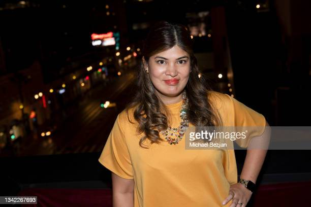 Valerie Martinez arrives at 17th Annual Oscar-Qualifying HollyShorts Film Festival Opening Night at Japan House Los Angeles on September 23, 2021 in...