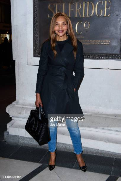 Valerie Morris attends the Pat McGrath 'A Technicolour Odyssey' Campaign launch party at Brasserie Of Light on April 04 2019 in London England