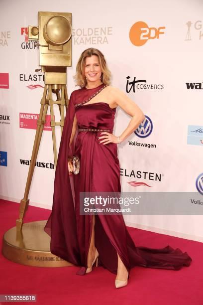 Valerie Niehaus attends the Goldene Kamera at Tempelhof Airport on March 30 2019 in Berlin Germany