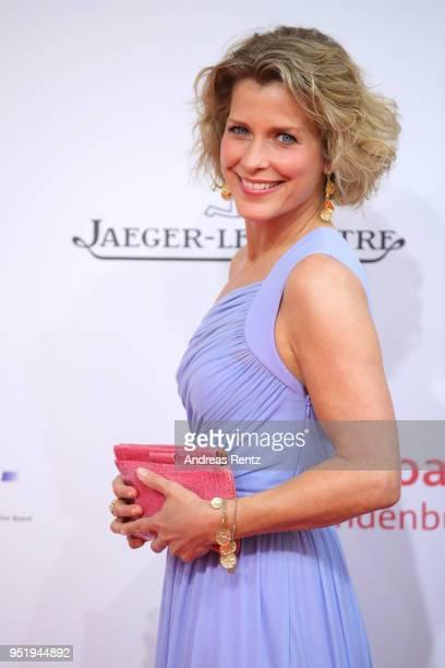 Valerie Niehaus attends the Lola German Film Award red carpet at Messe Berlin on April 27 2018 in Berlin Germany