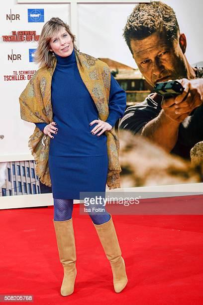 Valerie Niehaus attends the 'Off Duty' German Premiere on February 03 2016 in Berlin Germany