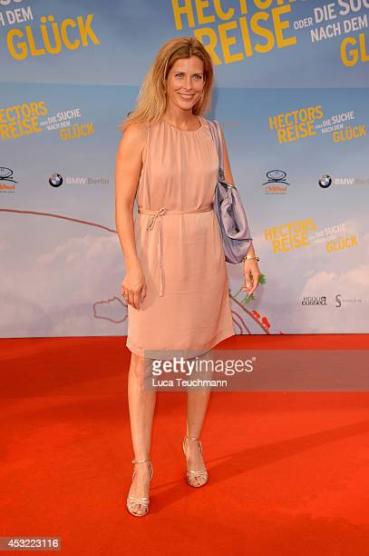 Valerie Niehaus attends the premiere of the film 'Hector and the Search for Happiness' at Zoo Palast on August 5 2014 in Berlin Germany