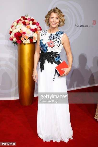 Valerie Niehaus attends the Rosenball charity event at Hotel Intercontinental on May 5 2018 in Berlin Germany