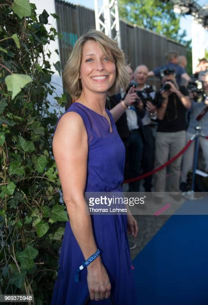 Valerie Niehaus attends the summer party 2018 of the German Producers Alliance on June 7 2018 in Berlin Germany