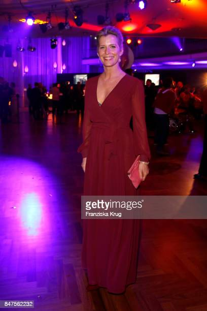 Valerie Niehaus attends the UFA 100th anniversary celebration at Palais am Funkturm on September 15 2017 in Berlin Germany