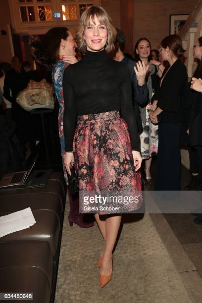 Valerie Niehaus during the Berlin Opening Night by GALA and UFA Fiction at hotel 'The Stue' on February 9 2017 in Berlin Germany