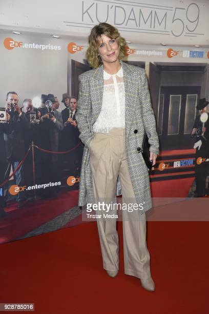 Valerie Niehaus during the premiere of 'Ku'damm 59' at Cinema Paris on March 7 2018 in Berlin Germany