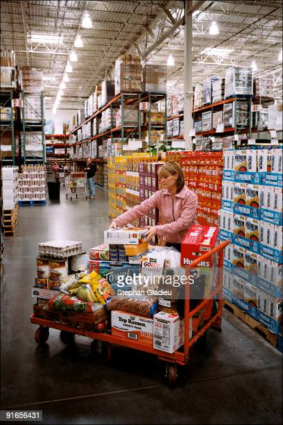 Valerie, one of three wives in a polygamist family from the Salt Lake Valley, shops at Costco once a week and spends an average of USD $400 to feed...