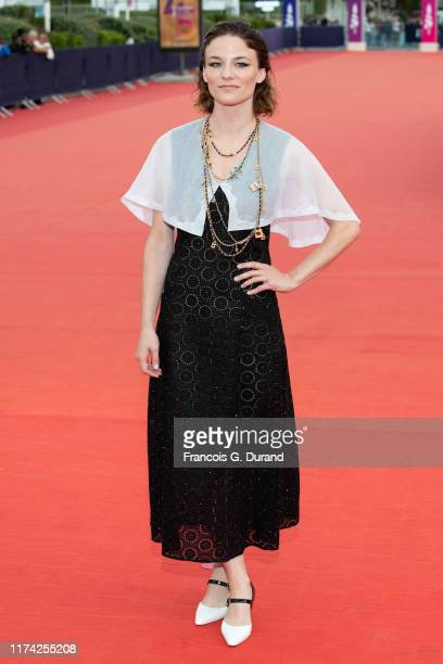 """Valerie Pachner attends the """"A Hidden Life"""" Premiere during the 45th Deauville American Film Festival on September 12, 2019 in Deauville, France."""