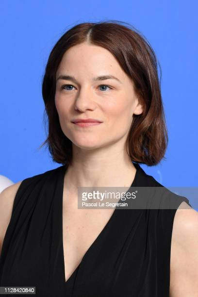 Valerie Pachner poses at the The Ground Beneath My Feet photocall during the 69th Berlinale International Film Festival Berlin at Grand Hyatt Hotel...