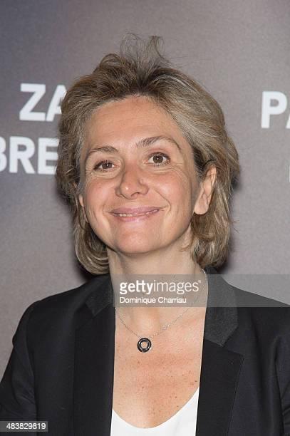 Valerie Pecresse attends the '24 Jours' Paris Premiere at Cinema Gaumont Marignan on April 10 2014 in Paris France