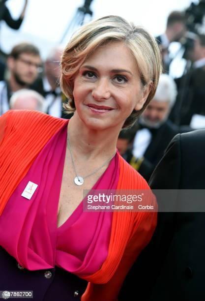 Valerie Pecresse attends 'The Beguiled' premiere during the 70th annual Cannes Film Festival at Palais des Festivals on May 24 2017 in Cannes France