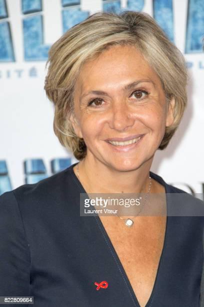Valerie Pecresse attends 'Valerian et la Cite desMille Planetes' Paris Premiere at La Cite Du Cinema on July 25 2017 in SaintDenis France