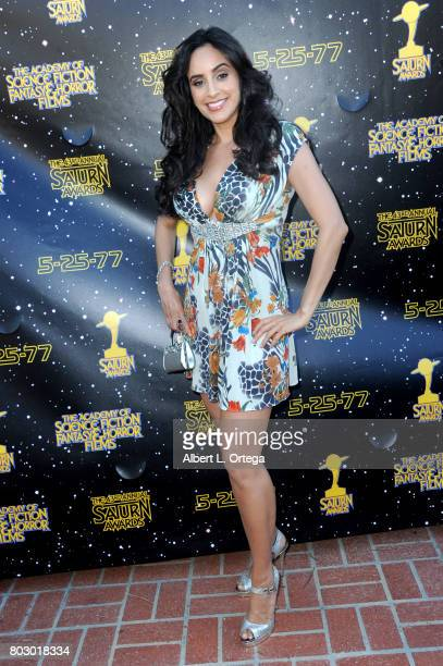 Valerie Perez attends the 43rd Annual Saturn Awards at The Castaway on June 28 2017 in Burbank California