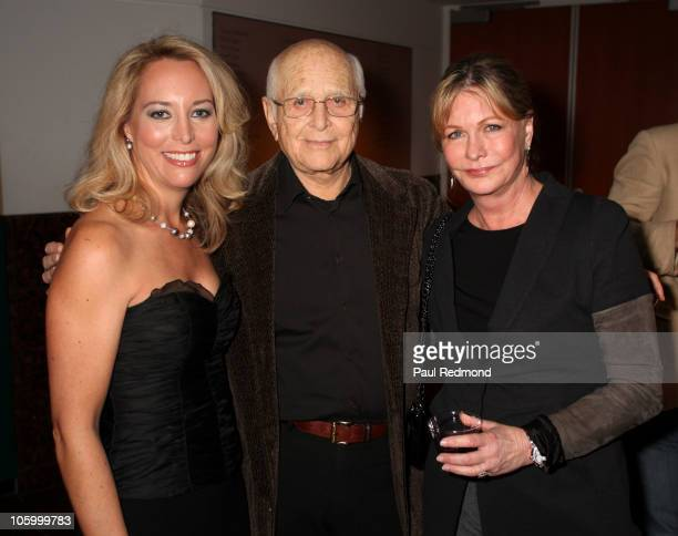 Valerie Plame Wilson Norman Lear and Lyn Lear attend Fair Game Los Angeles Premiere at the Museum of Tolerance on October 24 2010 in Los Angeles...