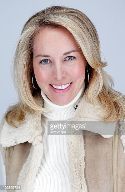 Valerie Plame Wilson poses for a portrait during the 2010 Sundance Film Festival held at the WireImage Portrait Studio at The Lift on January 25 2010...