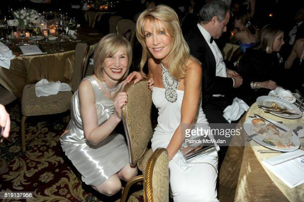 Valerie Salembier and Gail Icahn attend NEW YORK CITY POLICE FOUNDATION 32nd Annual Gala at Waldorf=Astoria on March 16 2010 in New York City