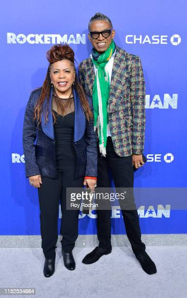 """Valerie Simpson and B Michael attend the US Premiere of """"Rocketman"""" at Alice Tully Hall on May 29, 2019 in New York, New York."""