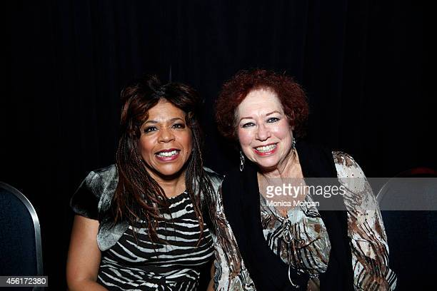 Valerie Simpson and Gerri Allen pose during the 2014 Congressional Black Caucus Jazz Concert at Walter E Washington Convention Center on September 25...