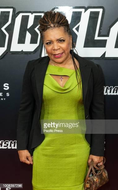 Valerie Simpson attends BlacKkKlansman premiere at BAM Harvey Theater