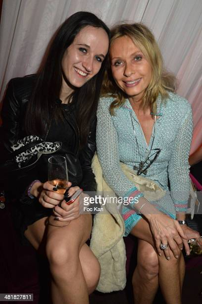 Valerie Steffen and her niece attend the Moma Group President Benjamin Patou receives his friend Claude Lelouch during the 'Salaud on t'Aime'...