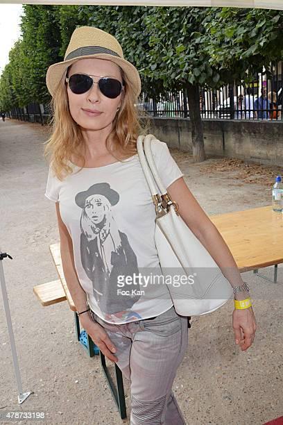 Valerie Steffen attends 'Fete des Tuileries' Launch Party To Benefit Meghanora Association on June 26 2015 in Paris France