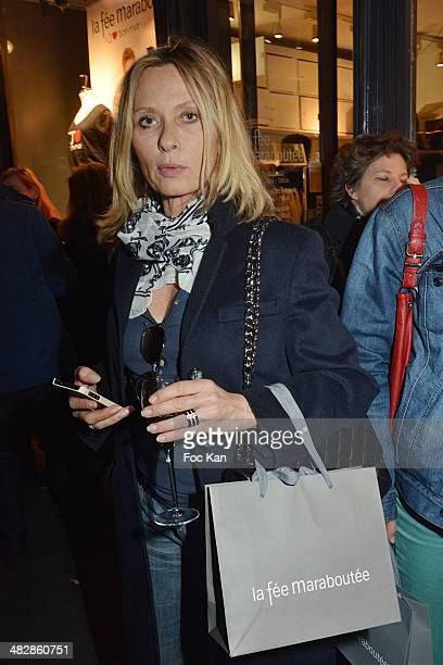 Valerie Steffen attends the 'J'aime Ton Mari' Sylvie Bourgeois Harel Book Reading Cocktail at La Fee Maraboutee Yvonne Le Tac Shop on April 4 2014 in...