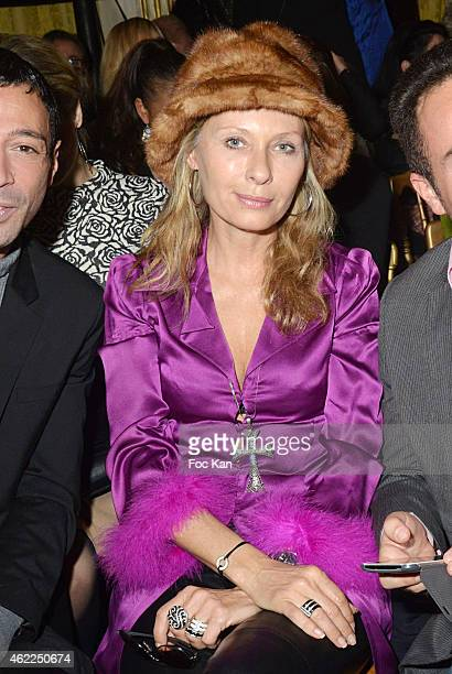 Valerie Steffen attends the Legends of Monaco show as part of Paris Fashion Week Haute Couture Spring/Summer 2015 on January 25 2015 in Paris France