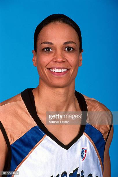 Valerie Still of the Washington Mystics poses for a portrait circa 1999 at the Verizon Center in Washington DC NOTE TO USER User expressly...