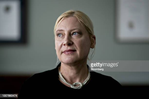 Valerie Szczepanik associate director of corporation finance division at the US Securities and Exchange Commission stands for a photograph at the SEC...