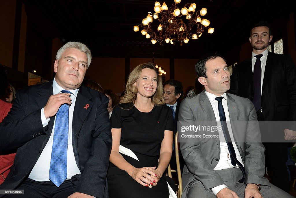 Ile-de-France Regional Councillor, Socialist Jean-Luc Romero Marries Christophe Michel In Paris