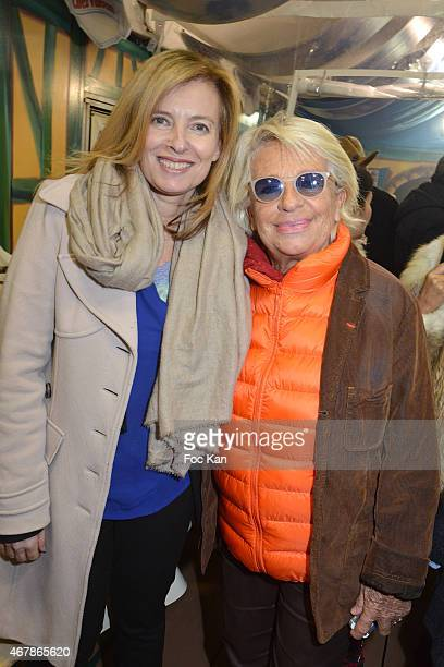 Valerie Trierweiler and Veronique de Villele attend 'La Foire du Trone 2015' Launch Party At Pelouse De Reuilly in Benefit of Le Secours Populaire...