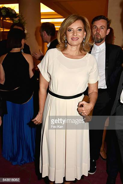 Valerie Trierweiler attends 22th Amnesty International France Gala at Theatre des Champs Elysees on June 28 2016 in Paris France