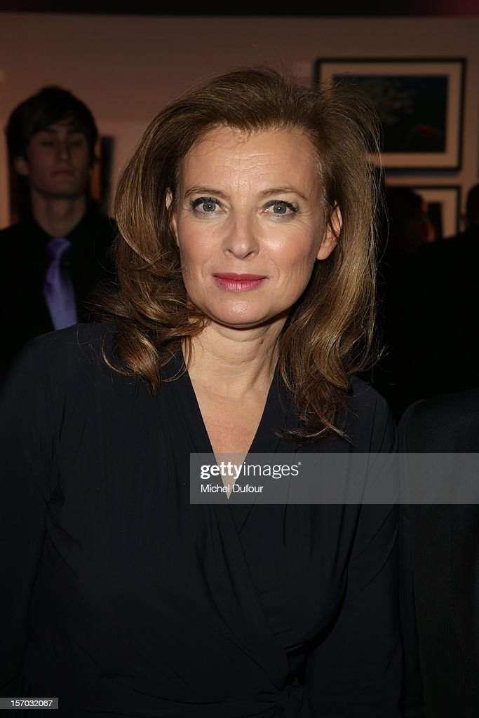 Valerie Trierweiler attends the AIDES International Gala Dinner at Grand Palais on November 27, 2012 in Paris, France.
