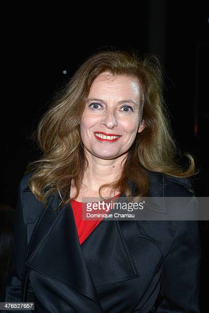 Valerie Trierweiler attends the Saint Laurent show as part of the Paris Fashion Week Womenswear Fall/Winter 20142015 on March 3 2014 in Paris France