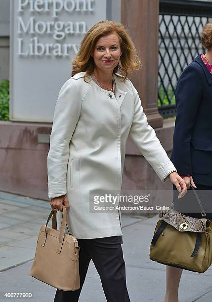 Valerie Trierweiler is seen on September 26 2012 in New York City