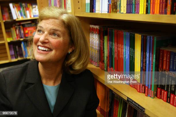 Valerie Tripp the Silver Spring author who has written most of the American Girl books at Borders Books
