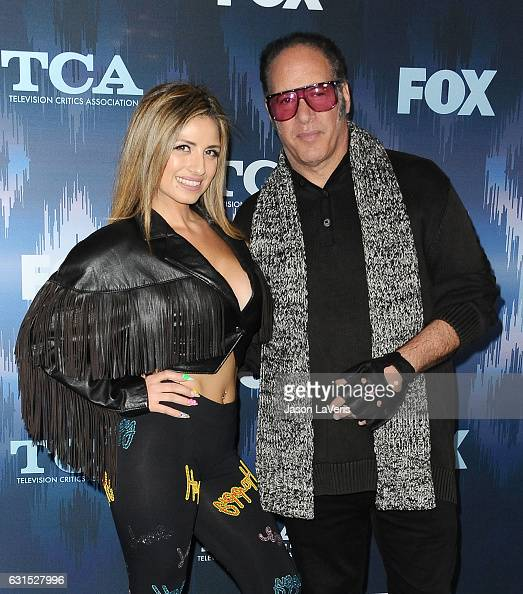 Valerie Vasquez and Andrew Dice Clay attend the 2017 FOX ...