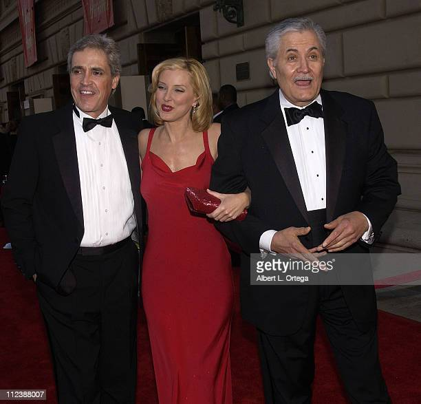 Valerie Wildman and John Aniston with guest during The 29th Annual People's Choice Awards Arrivals at Pasadena Civic Auditorium in Pasadena...