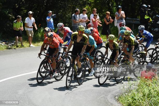 Valerio Agnoli of Italy and Team BahrainMerida / Luke Durbridge of Australia and Team MitcheltonScott / Simon Yates of Great Britain and Team...