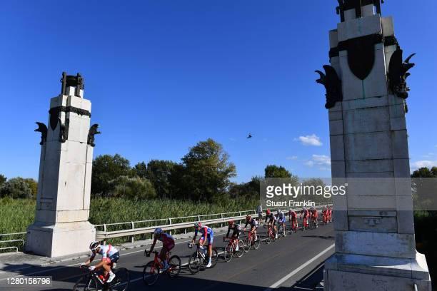 Valerio Conti of Italy and UAE Team Emirates / Mathias Le Turnier of France and Team Cofidis Solutions Credits / Kilian Frankiny of Switzerland and...